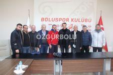 FİKRET ORMAN BOLUSPOR'U ZİYARET ETTİ