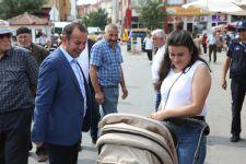 BAŞKAN ÖZCAN'DAN ESNAF ZİYARETİ
