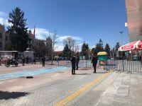 İZZET BAYSAL CADDESİNE BARİYERLİ ÖNLEM